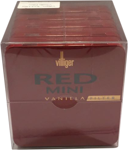 VILLIGER RED MINI VANILLA FILT. 5X20 KS (DE)