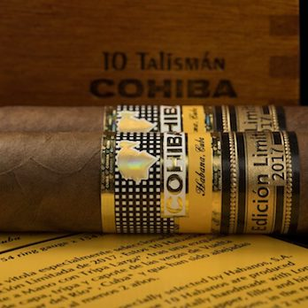 HABANOS, S.A. INTRODUCES THE COHIBA TALISMAN 2017 LIMITED EDITION IN LONDON