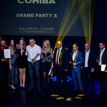 COHIBA CELEBRATED 50 YEARS OF EXCELLENCE AND PRESTIGE